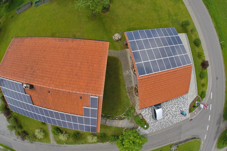 hocheffiziente photovoltaikanlage weitnau haus der zukunft plus in der sanierung energie. Black Bedroom Furniture Sets. Home Design Ideas