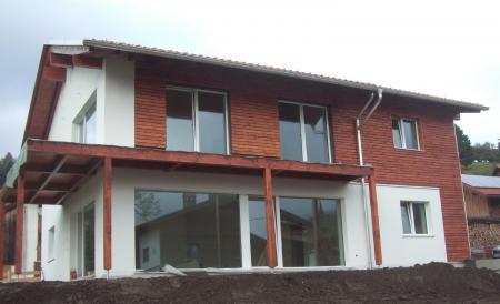 passivhaus sonthofen tiefenbach neubau zweifamilienhaus im passivhausstandard. Black Bedroom Furniture Sets. Home Design Ideas